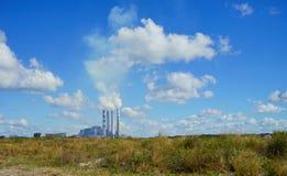 Luftförorening i den Florida apollo stranden Arkivbilder