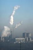 luftförorening royaltyfri fotografi