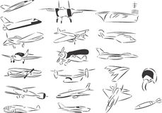 Luftfahrt vektor abbildung
