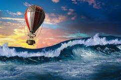 Luftfahrt als Sport Gemischte Medien lizenzfreie stockbilder