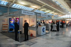 Luftfahrt-Elektronik Europa 2017 lizenzfreies stockbild