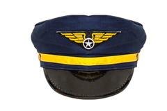 Luftfahrt-Kappe Stockfoto
