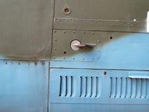 Luftfahrt masert Überzug von Flugzeugen und von Hubschrauber stockfotografie