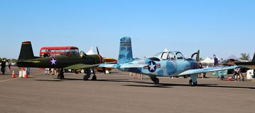 Luftfahrt-und Bildungs-Ausstellung stockfotos