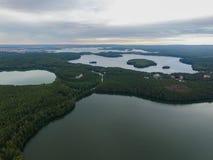 Luftfoto der Natur Lizenzfreies Stockfoto