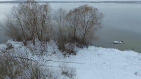 Luftfoto der Natur stock video footage