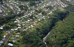 Luftfoto, Hawaii, USA Lizenzfreies Stockbild
