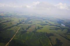 Luftfotohintergründe lizenzfreies stockfoto