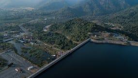 Luftfotos der großen Verdammung lizenzfreies stockfoto