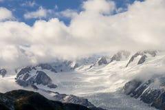 luftfranz glaciär joseph Arkivfoto