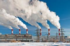 luftförorening Royaltyfria Bilder