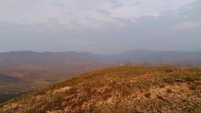 Luftgesamtlänge des Karoo in Südafrika stock video