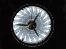 lufthål för metalltakturbin Royaltyfri Fotografi