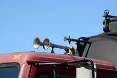 Lufthörner Stockfotografie