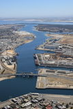 Lufthafen-Adelaide-Docks Lizenzfreies Stockfoto