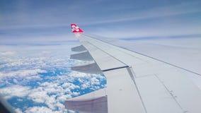 Lufthandwerksflügel and†‹Himmel Lizenzfreie Stockbilder