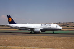 Lufthansa royalty free stock photography
