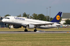 Lufthansa Foto de Stock Royalty Free