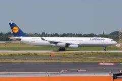 Lufthansa Imagem de Stock Royalty Free