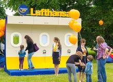 lufthansa Image stock