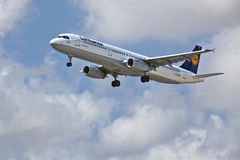 Lufthansa A321-200 Photographie stock