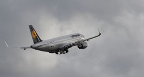 Lufthansa Aerobus A320-214 - cn 5741 (WL) Zdjęcie Stock