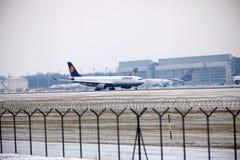 Lufthansa Airbus A330-300 Image libre de droits