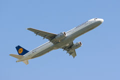 Lufthansa Airbus Royalty Free Stock Photography