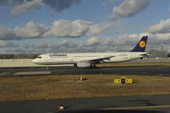 Lufthansa Airbus Foto de Stock