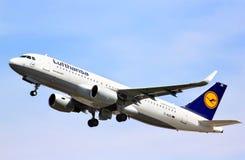 Lufthansa Airbus A320-200 Imagem de Stock