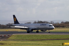 Lufthansa Airbus A321 Imagens de Stock