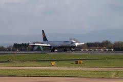 Lufthansa Airbus A321 imagem de stock