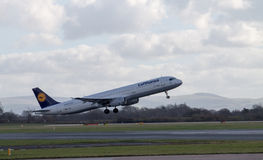 Lufthansa Airbus A321 Fotos de Stock Royalty Free