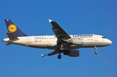 Lufthansa Airbus A319 Imagens de Stock