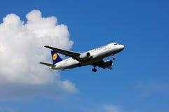 Lufthansa Airbus A320 Fotografia de Stock Royalty Free