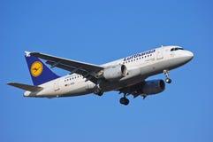 Lufthansa Airbus A319 Imagem de Stock