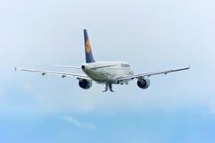 Lufthansa Airbus A319 Foto de Stock Royalty Free