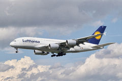 Lufthansa Airbus A380-841 Photographie stock