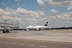 Lufthansa Airbus Photo stock