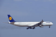 Lufthansa Airbus A340 D-AIHO Stock Image