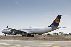 Lufthansa Airbus A340 D-AIHO Stock Images