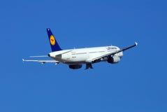 Lufthansa Airbus A321. Royalty Free Stock Photo
