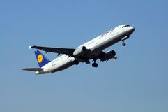 Lufthansa Airbus A321. Royalty Free Stock Image
