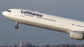 Lufthansa Airbus A324 airplane Stock Photo
