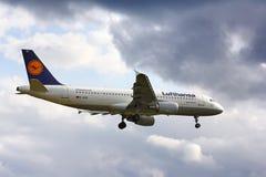 Lufthansa Airbus A320 Stock Photo