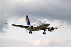 Lufthansa Airbus A319 Stock Images