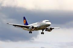 Lufthansa Airbus A319 Royalty Free Stock Photo