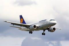Lufthansa Airbus A319 Royalty Free Stock Photos
