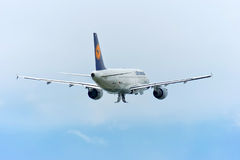Lufthansa Airbus A319 Royalty Free Stock Photo