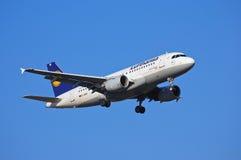 Lufthansa Airbus A319 Stock Image